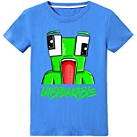 thombase UNSPEAKABLE Boys Girls T-Shirt Youtuber Kids Fashion Tops Shirt