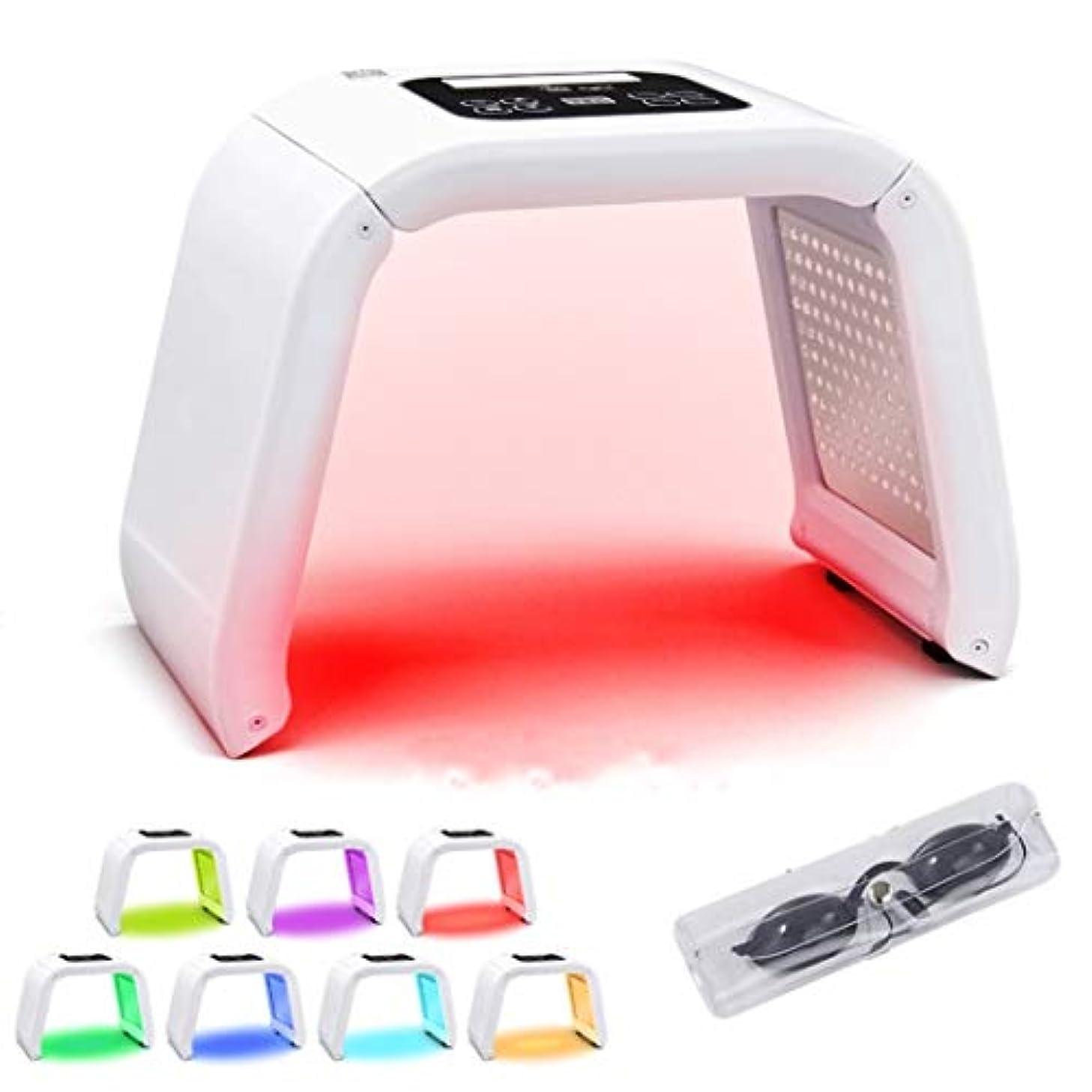 実験室一致荒廃する光線力学スキンケア、7色PDT LEDライト美容光線力学ランプウェルク治療肌の若返りマシン