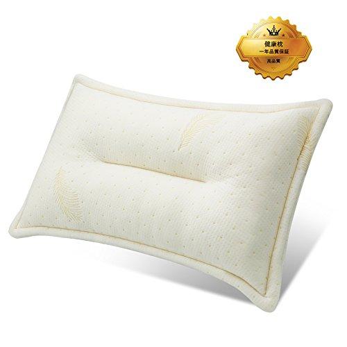 枕 人気安眠枕 低反発チップ枕 いびき対策枕 健康枕 頚椎安定型 首・頭・肩をやさしく支える健康枕 頭痛改善 睡眠改善 疲労回復 通気性抜群 日本人に適したジャストサイズ ピロー