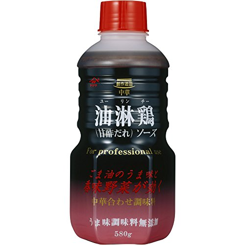 ヤマサ 油淋鶏ソース 甘酢だれ 580g