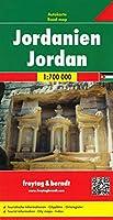Jordan Road Map 1:700 000