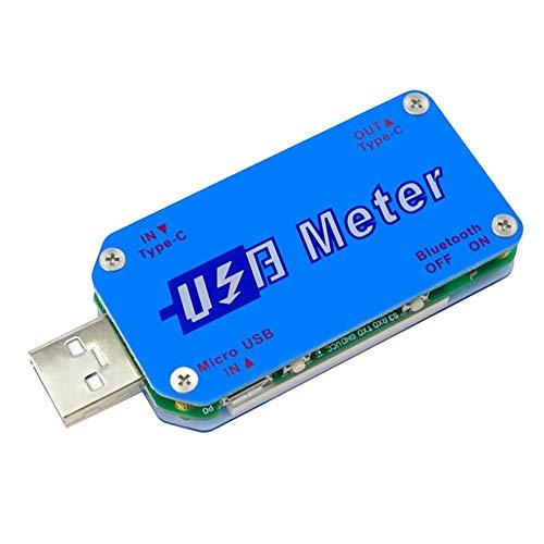 Madeling UM25C USB 2.0 Type-CカラーLCDテスター電圧電流計電圧計電流計