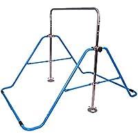 鉄棒てつをくん 折り畳み式 鉄棒 てつをくん 鉄棒練習 逆上がり 4段階 高さ調節可能 子供練習 体育 運動 室内 屋外 家庭用 キッズ用 省スペース ブルー