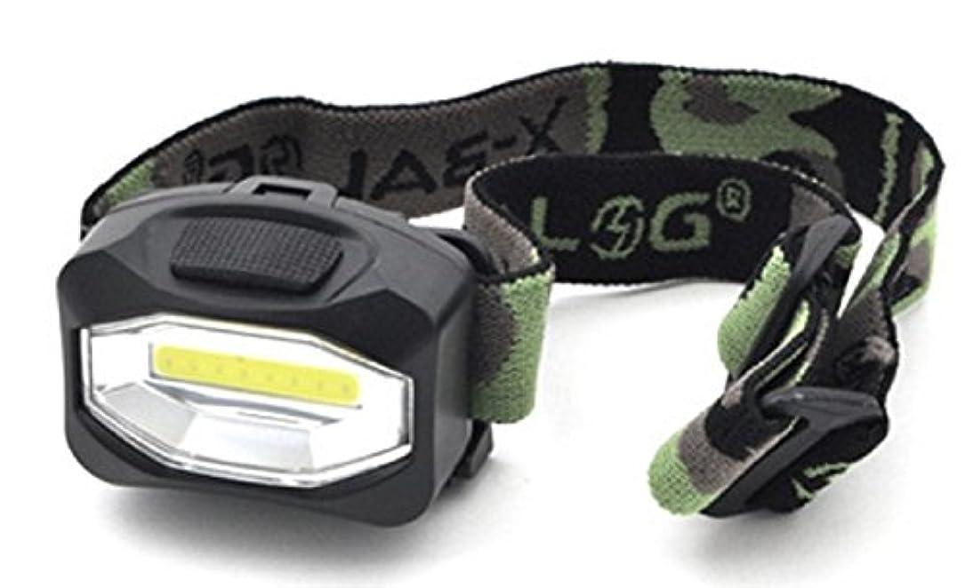 時制ブラザーレイアPLATA LED ヘッド ライト 4色から選べる! 迷彩 デザイン 点灯 点滅 スイッチ で 切り替え 可 Headlight ヘッドライト 【 ブラック 黒 くろ black 】 YWA174BK