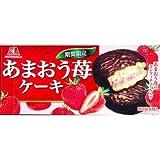 森永製菓 【期間限定】森永 あまおう苺ケーキ 6個 E488350H
