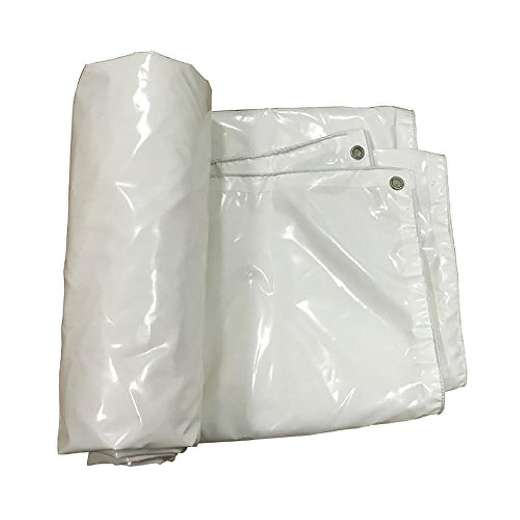 名誉ビタミン霧WCH アイレットが付いている防水頑丈で白い屋外の日曜日の保護の防水シートシート