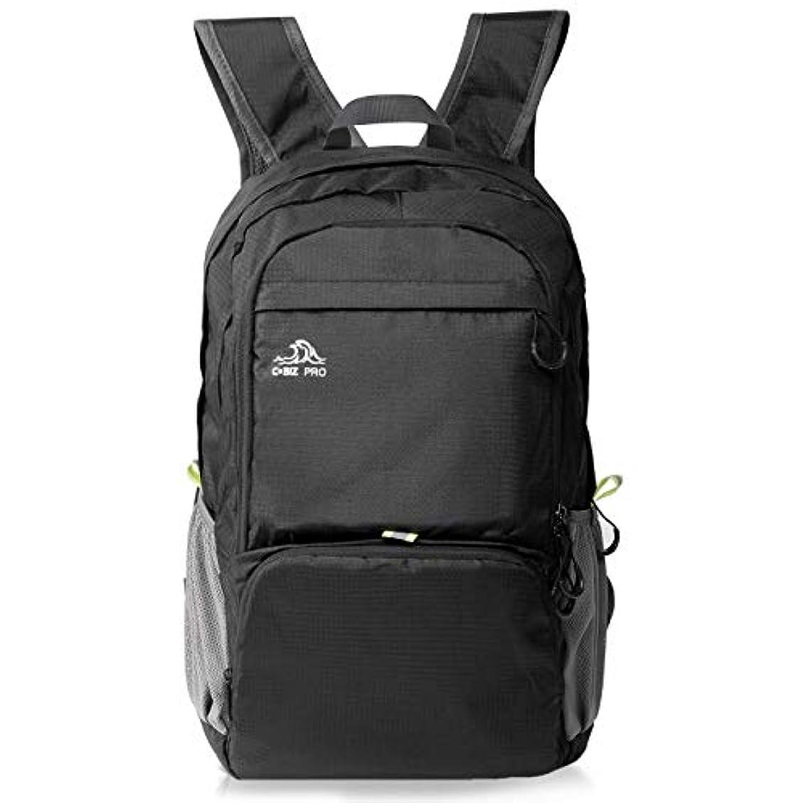学士虚偽うまくやる()リュック,Cobiz軽量収納キャンプハイキングバックパックデイパック、30リットル小パック便利な折りたたみ式旅行アウトドアスポーツリュックサックユニセックスナイロンスクールバッグ