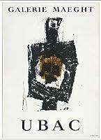 ポスター ラウル ウバック 1958 額装品 アルミ製ベーシックフレーム(ホワイト)
