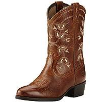 Kids' Desert Holly Western Cowboy Boot Coyote Brown 6 M US Big Kid