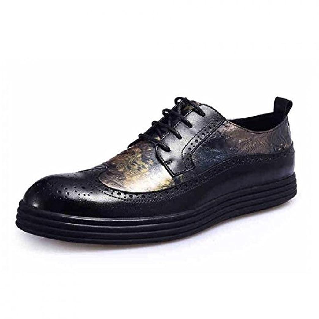 できる覚醒落ち着いて21号青石街 カジュアルシューズ メンズ ビジネスシューズ 本革 ローファー 紳士靴 革靴 レースアップ ウォーキング 通気性 おしゃれ ウイングチップ レトロ
