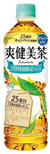 爽健美茶 ペット 600ml×24本