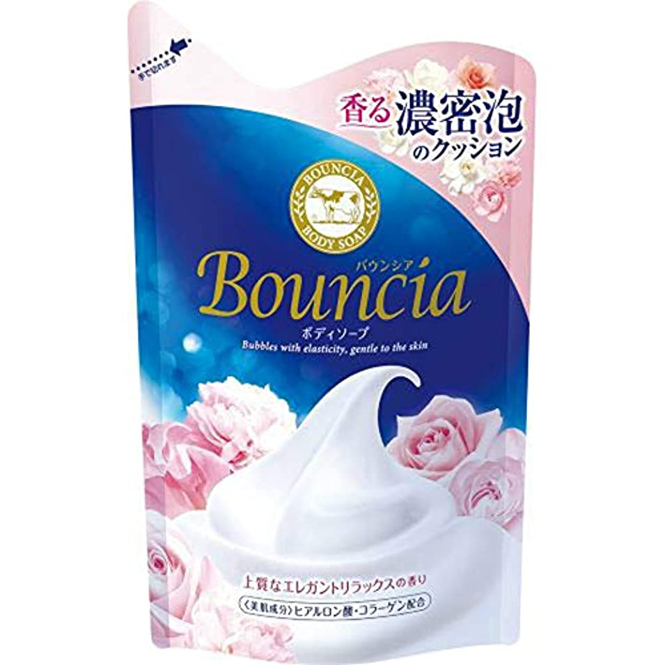 電圧血色の良いぐったりバウンシア ボディソープ エレガントリラックスの香り 詰替え 430mL