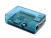 ブルーClosed Case For Raspberry Pi Model B + (B Plus) Good for XBMCユーザー