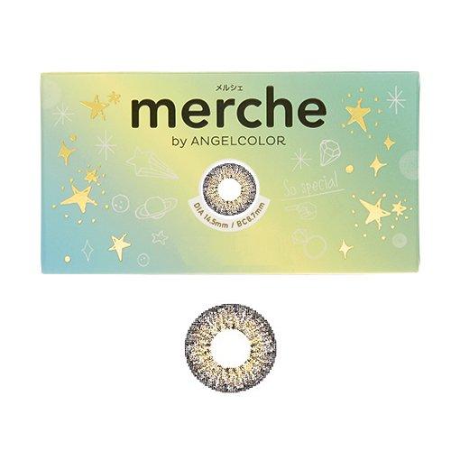 merche(メルシェ) by Angelcolor/1箱2枚入/1ヶ月 【チョコクリスピー】 度なし