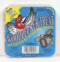 C & S製品Woodpecker Treatスエット、コーン、Oats、ピーナッツ、Pecans 11Oz