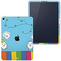 igsticker iPad Pro 12.9 inch インチ 専用 apple アップル アイパッド 2018 第3世代 A1876 A1895 A1983 A2014 全面スキンシール フル 背面 側面 正面 液晶 タブレットケース ステッカー タブレット 保護シール 人気 鳥 キャラクター イラスト 003561