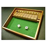Shut the Box Game - Wooden by CHH [Toy] [並行輸入品]