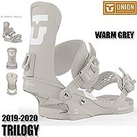 19-20 ユニオン トリロジー ビンディング UNION TRILOGY WARM GREY S/M 女性用 レディース スノボ スノーボード 2020_M