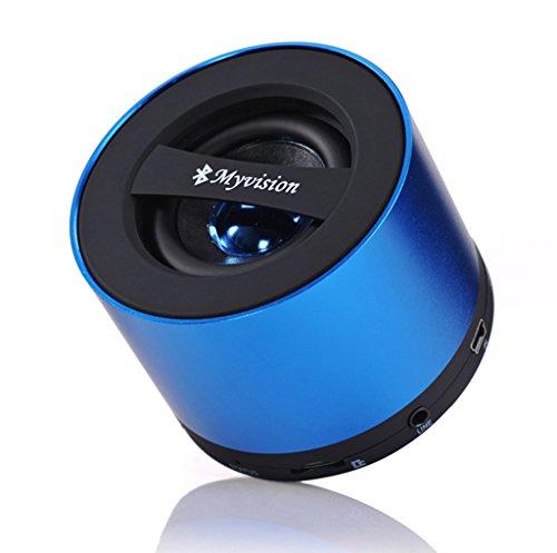 Xleader Bluetooth スピーカー ポータブル ミニ マックス 5W 出力省電力設計 (ブルー)