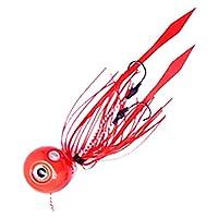 タイラバ 鯛ラバ 60g 赤 レッド ルアー 釣果重視 エビス玉 遊動式 天草 IRC オリジナル タイカブラ 鯛カブラ テンヤ 真鯛 青物 底物 ロックフィッシュ