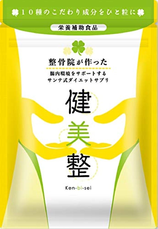 悲しいことにトーナメント増幅サプリメント ダイエット 酵素 腸内 健美整 人気 腸内環境 60粒1か月分 (1)