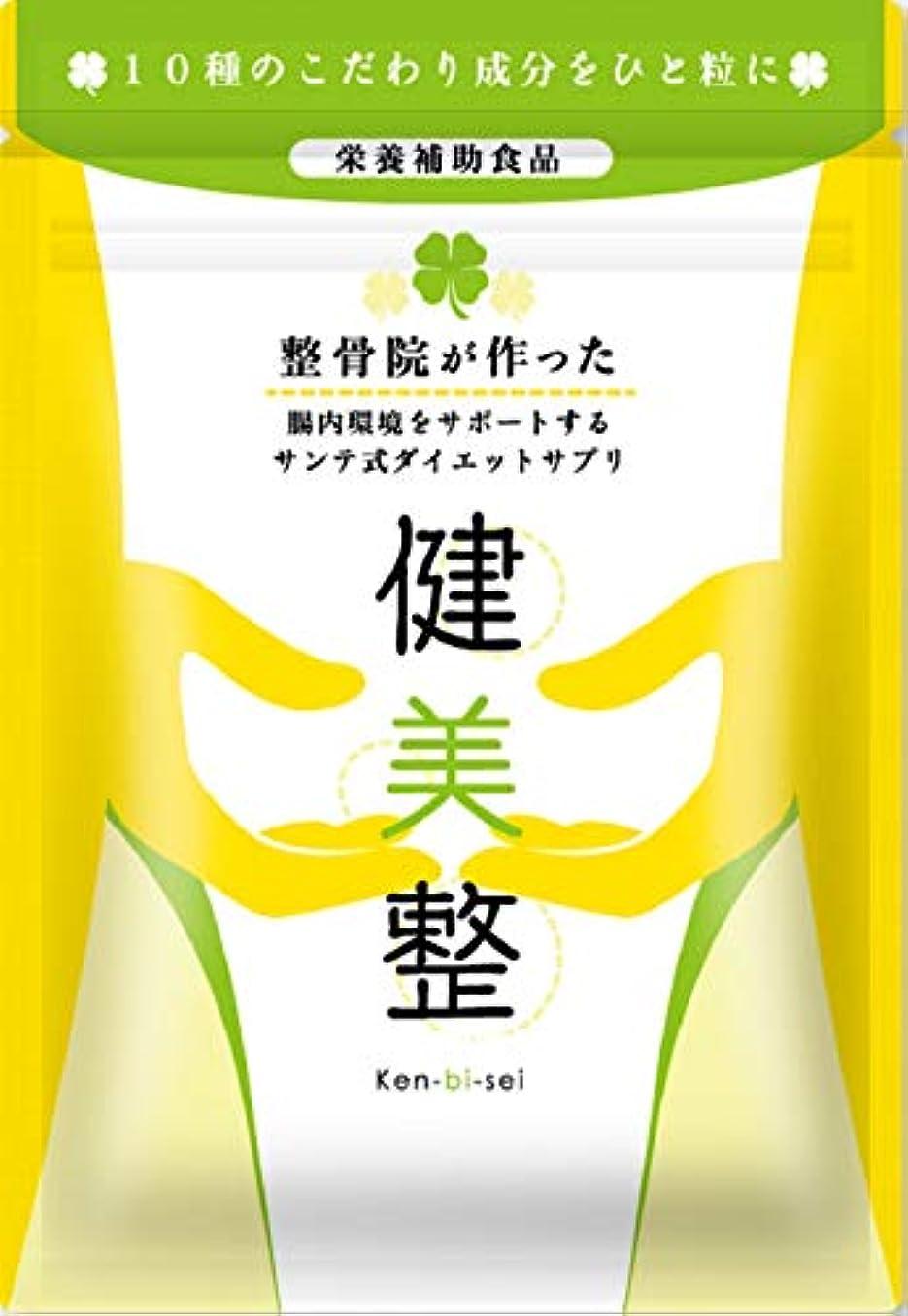 観客と闘う限りなくサプリメント ダイエット 酵素 腸内 健美整 人気 腸内環境 60粒1か月分 (1)