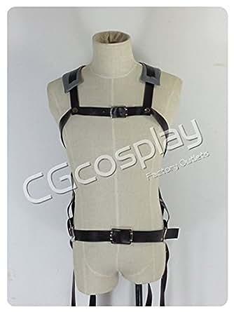 ★CGcosplay★ 【フリーサイズ】 進撃の巨人 ベルト類 コスプレ衣装 70(C)