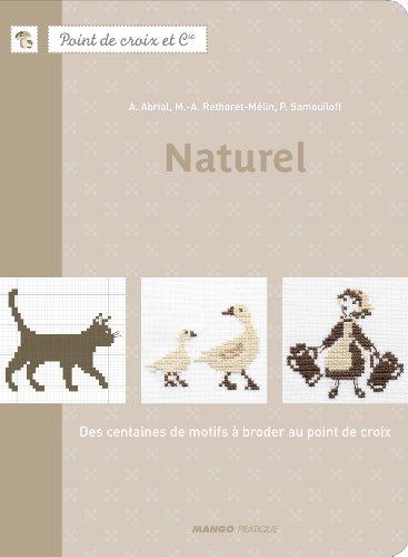MANGO 「Naturel」 クロススタッチ作品・図案集-フランス語