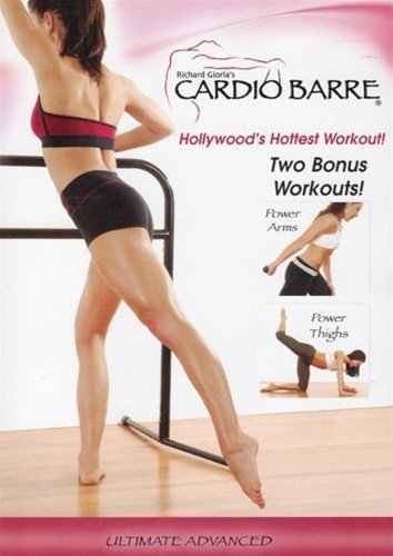 Cardio Barre Ultimate Advanced DVD With Bonus Workouts - Region 0 Worldwide