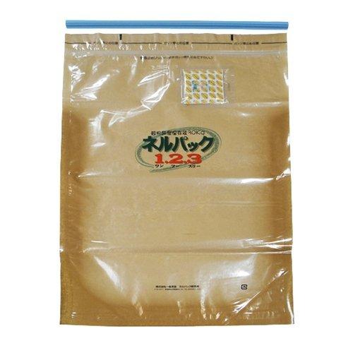 一色本店 玄米・白米などの穀物の鮮度保持 ネルパック1.2.3 30kg