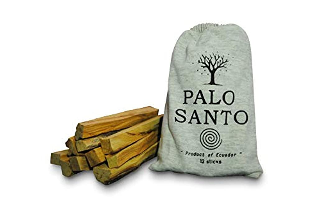 ブラケットしなやかコンパクトオルタナティブ ミラクル パロ サント スマッジスティック - 野生の収穫 聖なる木のお香 スマッジスティック