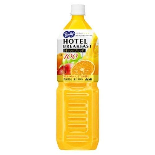 アサヒ飲料 バヤリース ホテルブレックファースト オレンジブレンド100 1.5L×8本