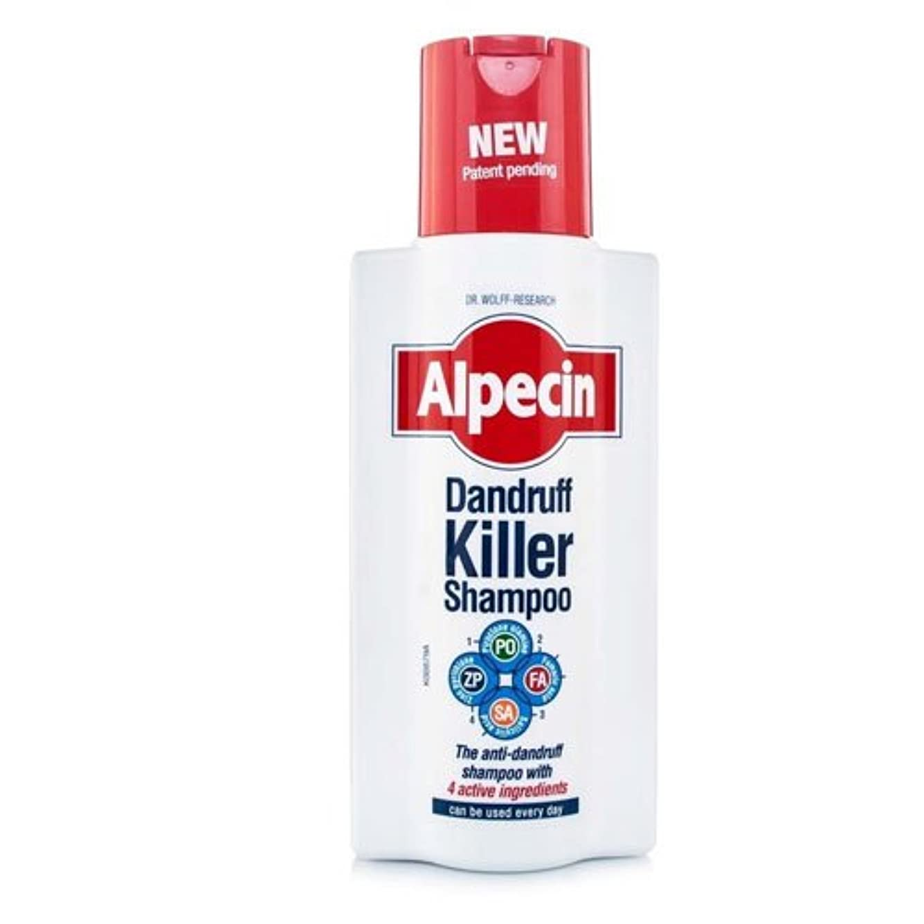 分割側溝土器Alpecin Dandruff Killer Shampoo 250 ml by Alpecin [並行輸入品]