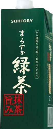 サントリー まろやか緑茶抹茶の旨み(業務用) 1L×6本