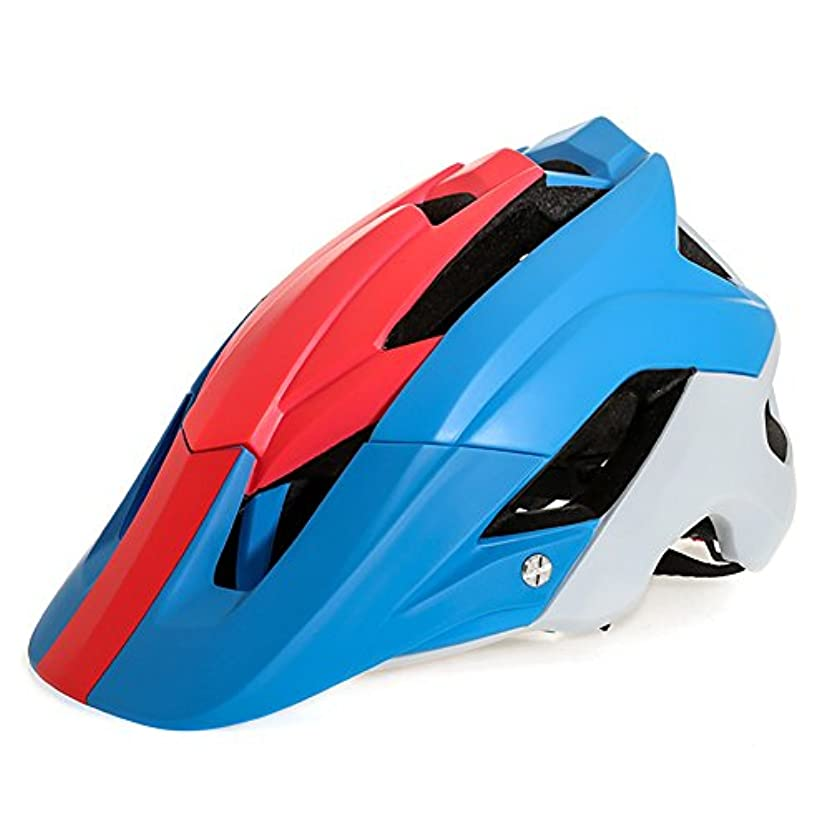 夕暮れロボット消費者Liebeye 自転車 ヘルメット 取り外し可能 ライニング 調節可能 通気性 軽量 サイクリング 保護 アダルト