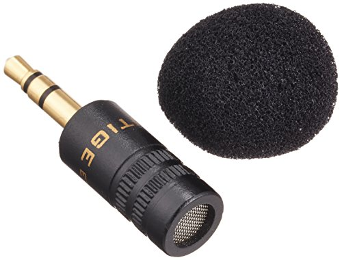 EDUTIGE デュアルモノマイク/【国内正規品】 汎用レコーダー・GoPro全指向・無指向性小型3極イヤホンプラグ ピンマイク/AETM-001