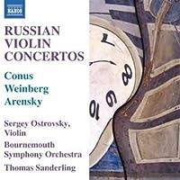 Russian Violin Concertos by Ostrovsky (2011-10-25)