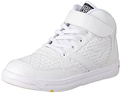 [シュンソク] SYUNSOKU 運動靴 DANCE JAB 0180 W (白/19.0)
