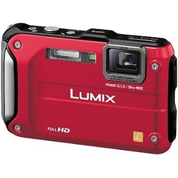 Panasonic デジタルカメラ LUMIX FT3 スパーキーレッド DMC-FT3-R