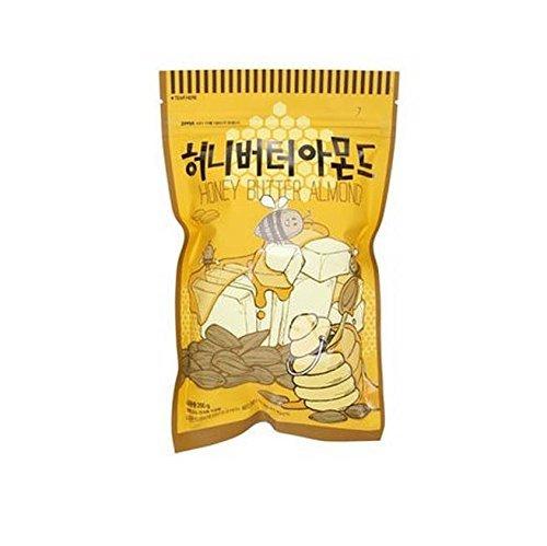 1個 ハニーバターアーモンド韓国E-マートナッツ250グラム X 1 Honey Butter Armond [海外直発送]