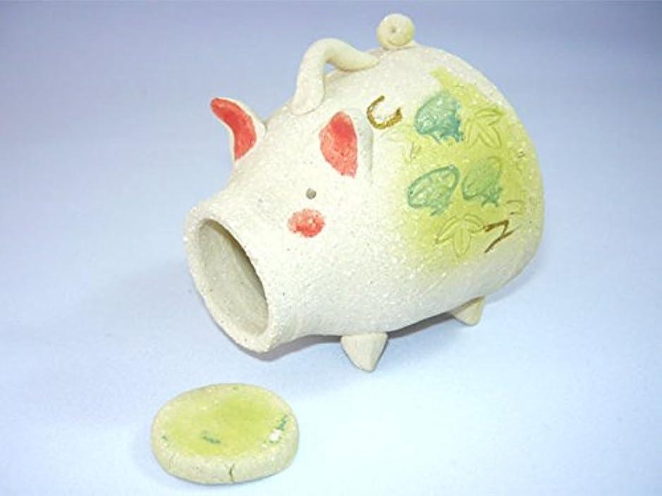 ペッカディロ可能にする王子人形師の手造り 香炉 香立て/濱田ひろ子 ぶた香立て/夏のインテリア