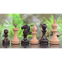 Chessbazaar Reproduced Antique Series Dublin Pattern Chess Pieces In Rose & Box Wood