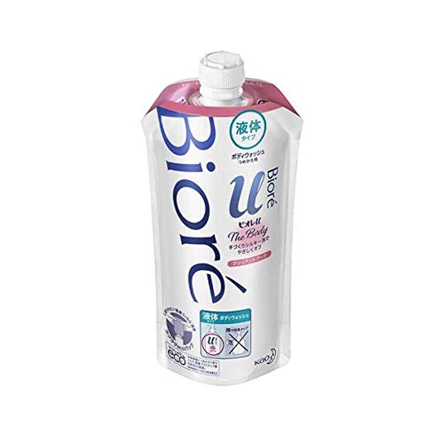 微生物心のこもったパンダ花王 ビオレu ザ ボディ液体ブリリアントブーケの香り 詰替え用 340ml