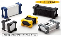 タカチ TAKACHI  AWP8-5-12  SB シルバー / ブラック  プロテクター付 アルミケース
