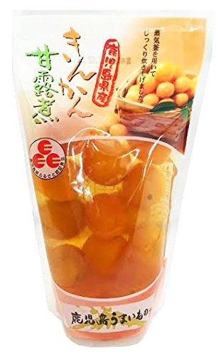 きんかん甘露煮 スタンドパック 14粒×3袋 丸八 鹿児島県産のキンカン100%使用 昔ながらの製法で炊き上げた素材本来の味と香り 冷やしてデザートに お菓子作りにも