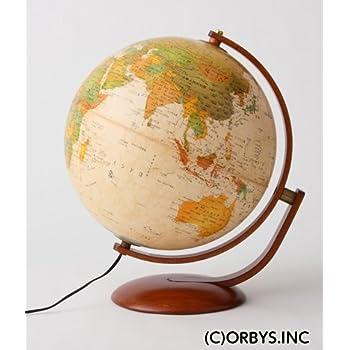 ORBYS 地球儀 マルコポーロ37 球径37cm アンティーク 44810
