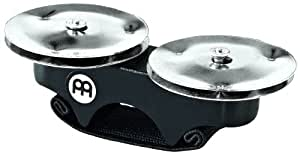 MEINL Percussion マイネル カホンアクセサリー Finger Jingle Stainless Steel FJS1S-BK 【国内正規品】
