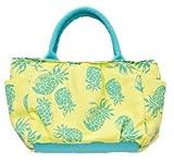 ハワイアン トート バッグ パイナップル サークル シェル 雑貨 コプスバッグ (パイナップル)