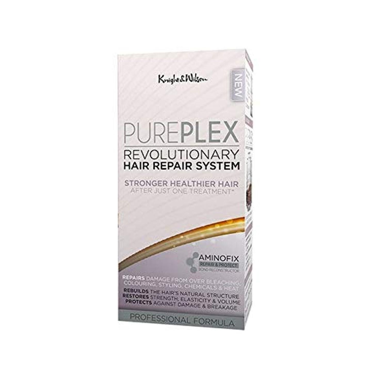 シェルター満州誘惑する[Knight and Wilson ] 騎士とウィルソンPureplex画期的なヘア修復システム - Knight and Wilson PurePlex Revolutionary Hair Repair System...