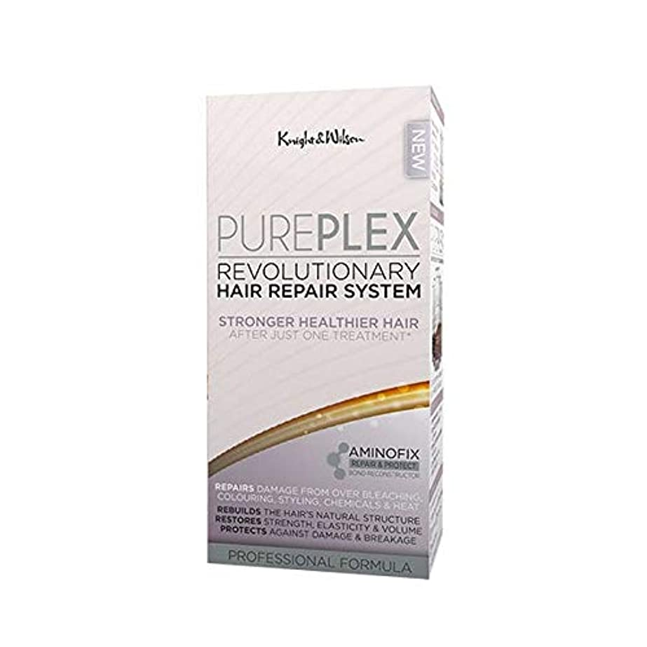 臭い石炭ゲート[Knight and Wilson ] 騎士とウィルソンPureplex画期的なヘア修復システム - Knight and Wilson PurePlex Revolutionary Hair Repair System...